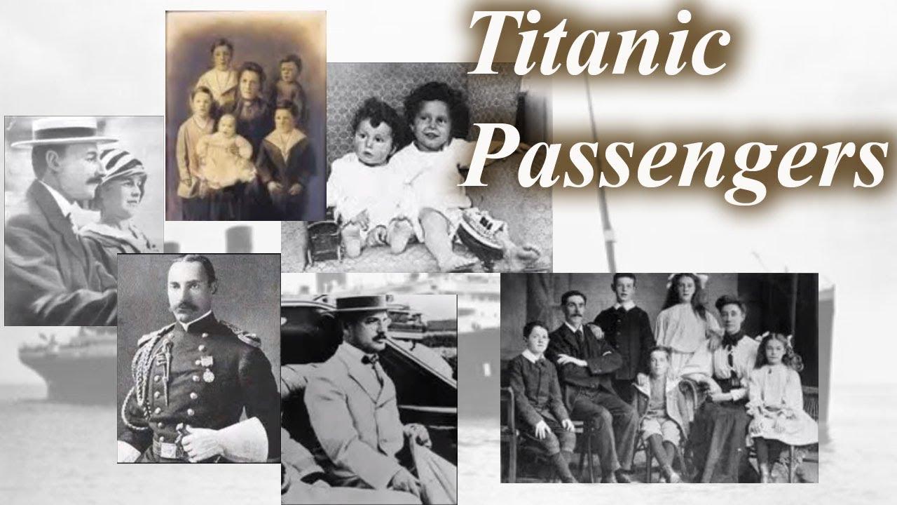 Titanic Passengers - YouTube