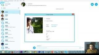 How to Add and find people on Skype in Windows 8,7,Visa and MAC