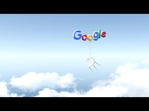 Google Logo Intro - Balloon Style