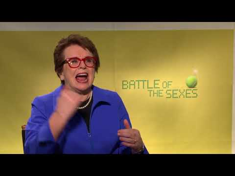 Battle Of The Sexes - Itw Billie Jean King (official video)
