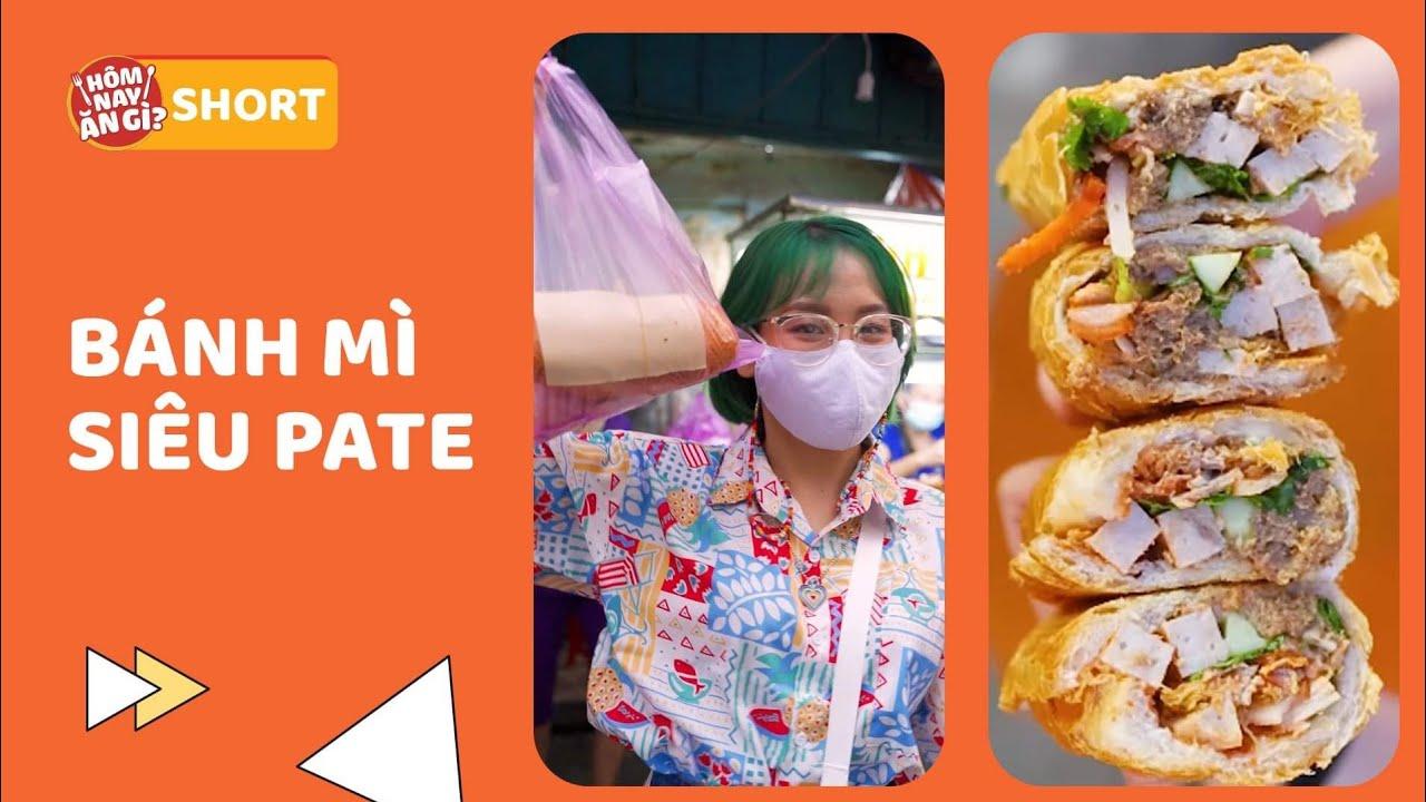 BÁNH MÌ SIÊU PATE HOÀNG OANH VANG DANH HƠN 40 NĂM: Số 8 Phan Văn Hân, Bình Thạnh #shorts