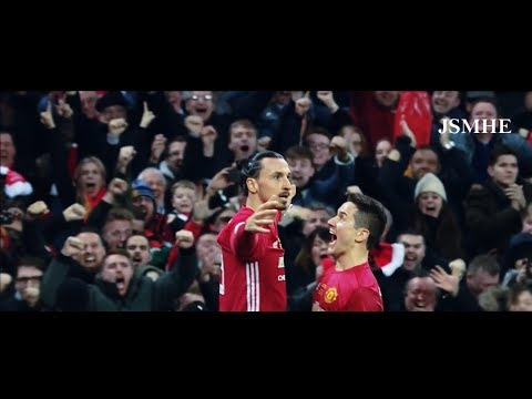 Zlatan Ibrahimovic - A Lion - 28 Goals & Best Moments With Commentary - Manchester United 2016-2017
