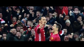 Zlatan Ibrahimovic - A Lion - 28 Goals Full Commentary & Best Moments- Manchester United 2016-2017
