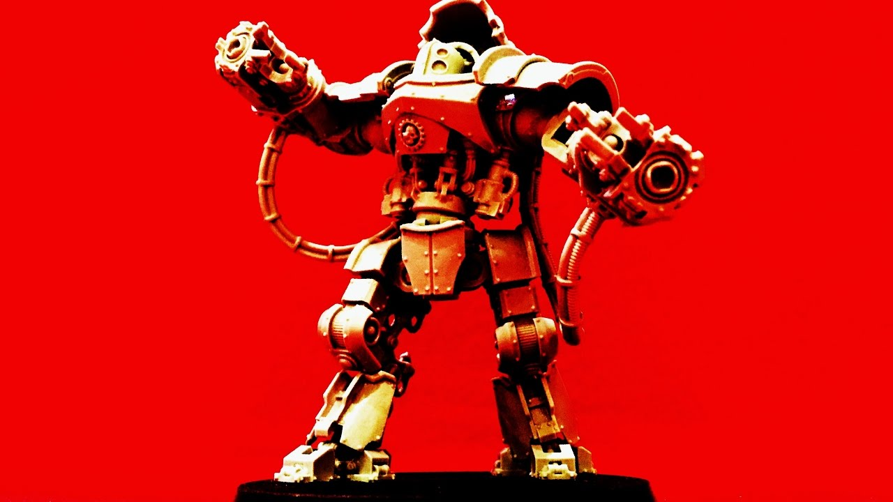 Mechanicum Domitar Battle-automata painted Warhammer 40k