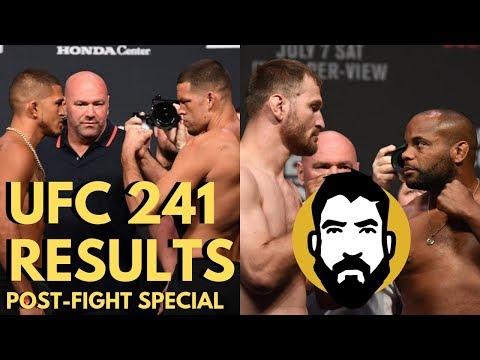 UFC 241 Results: Daniel Cormier vs. Stipe Miocic 2 | Diaz-Pettis | Post-Fight Special | Luke Thomas