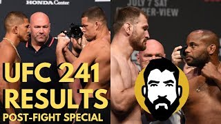 UFC 241 Results: Daniel Cormier vs. Stipe Miocic 2 | Diaz-Pettis | Post-Fight Special | Luke Thomas