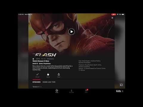 The Flash Season 5 Is Now On Netflix