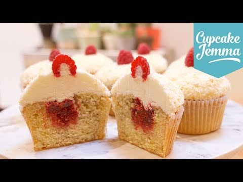 Raspberry & Coconut Cupcakes   Cupcake Jemma