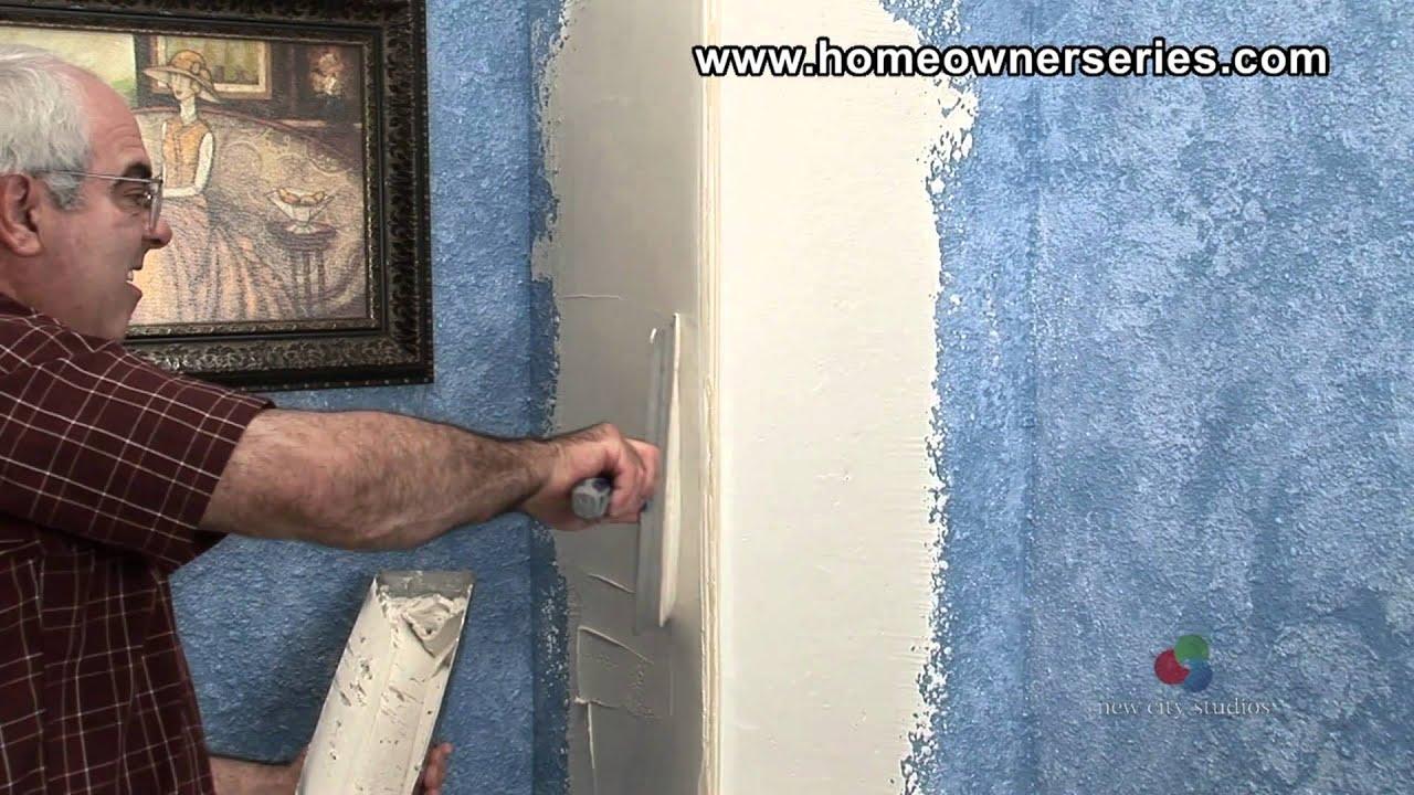 Sheetrock Corner Bead Installation : Installing round corner bead drywall repair part of