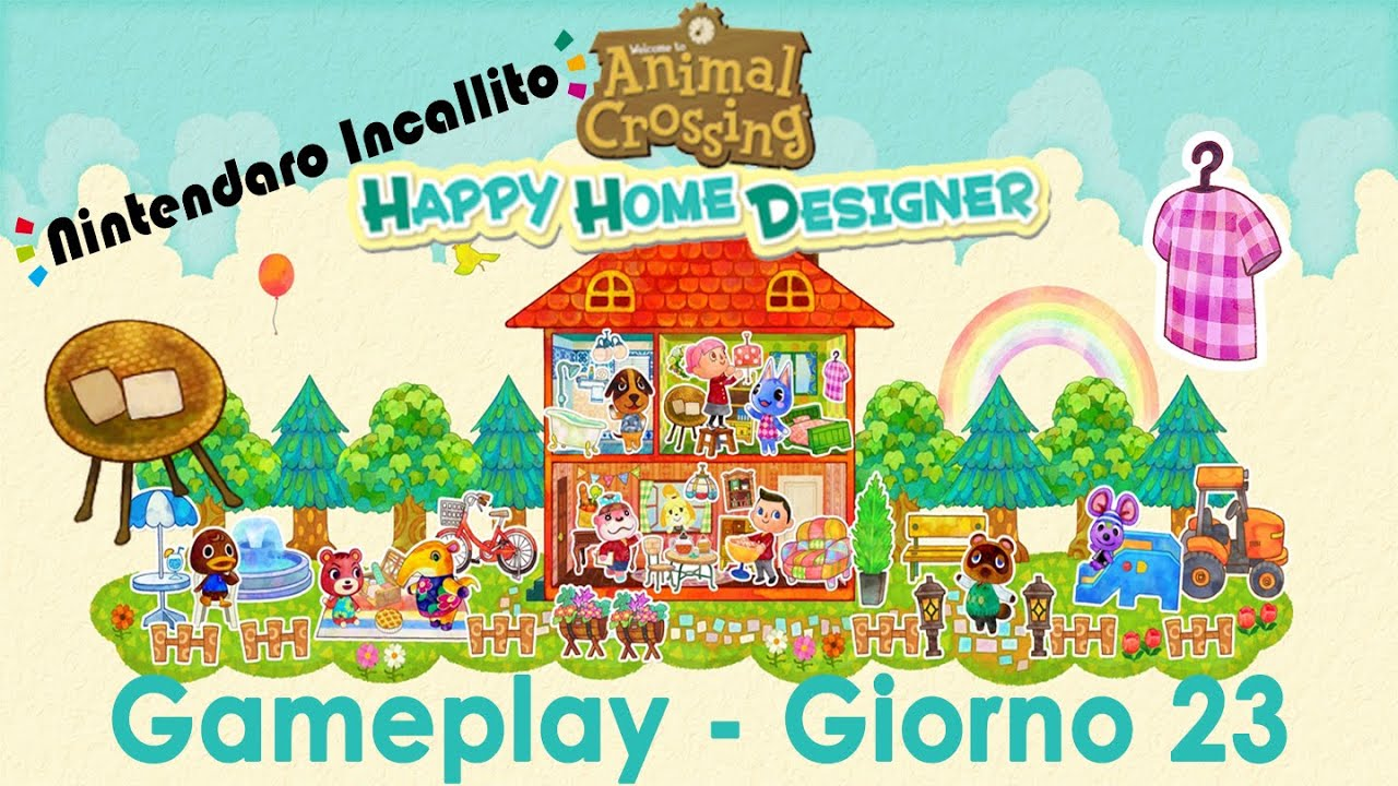 Gameplay Animal Crossing Happy Home Designer Giorno 23 Youtube