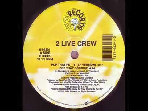 2  Crew  Pop That Pussy LP Version 128Bpm  Vinyl