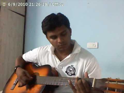 Aaromale Guitar Cover-Vinnai Thaandi Varuvaayaa