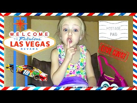 I Mailed Myself to Las Vegas Strip in a Box and IT WORKED - Celebrating 100k Subscribers