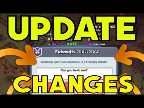 FRIENDLY CHALLENGE CHANGES!!! 24 Hour Cool Down + Scout Changes In Clash Of Clans