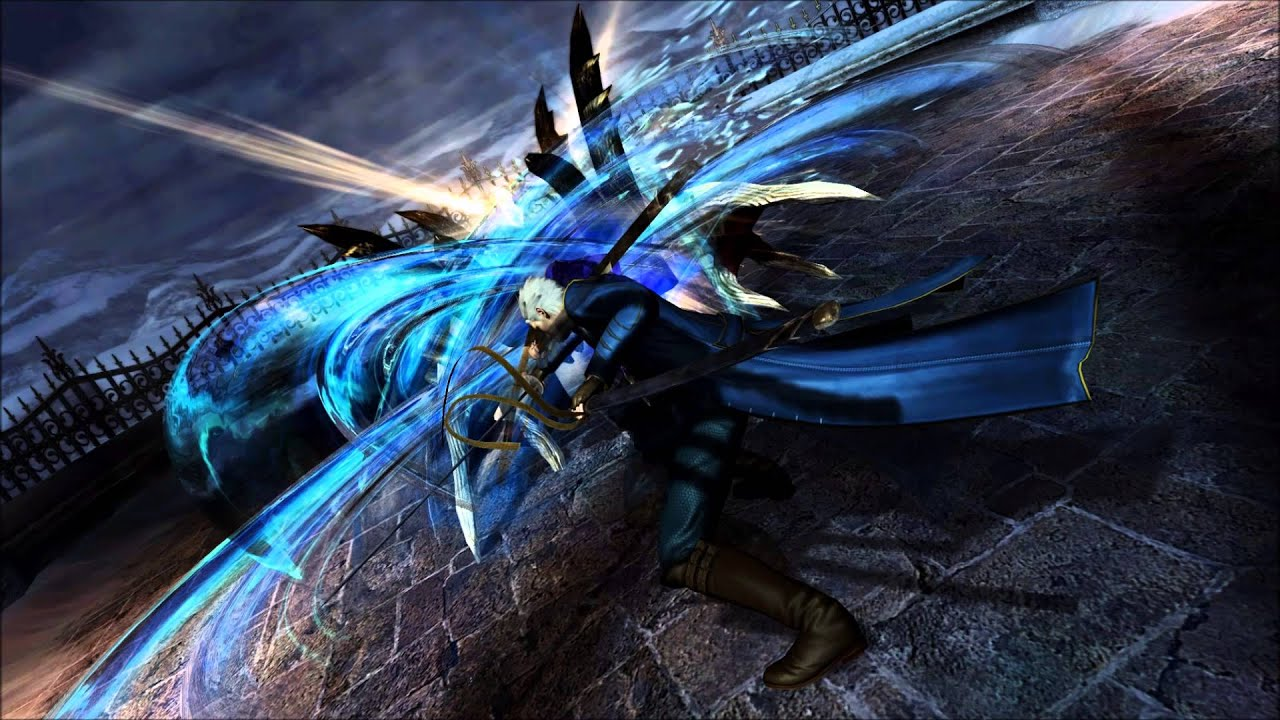 Vergil Yamato Sword Hd Wallpaper: Devil May Cry 4 Special Edition