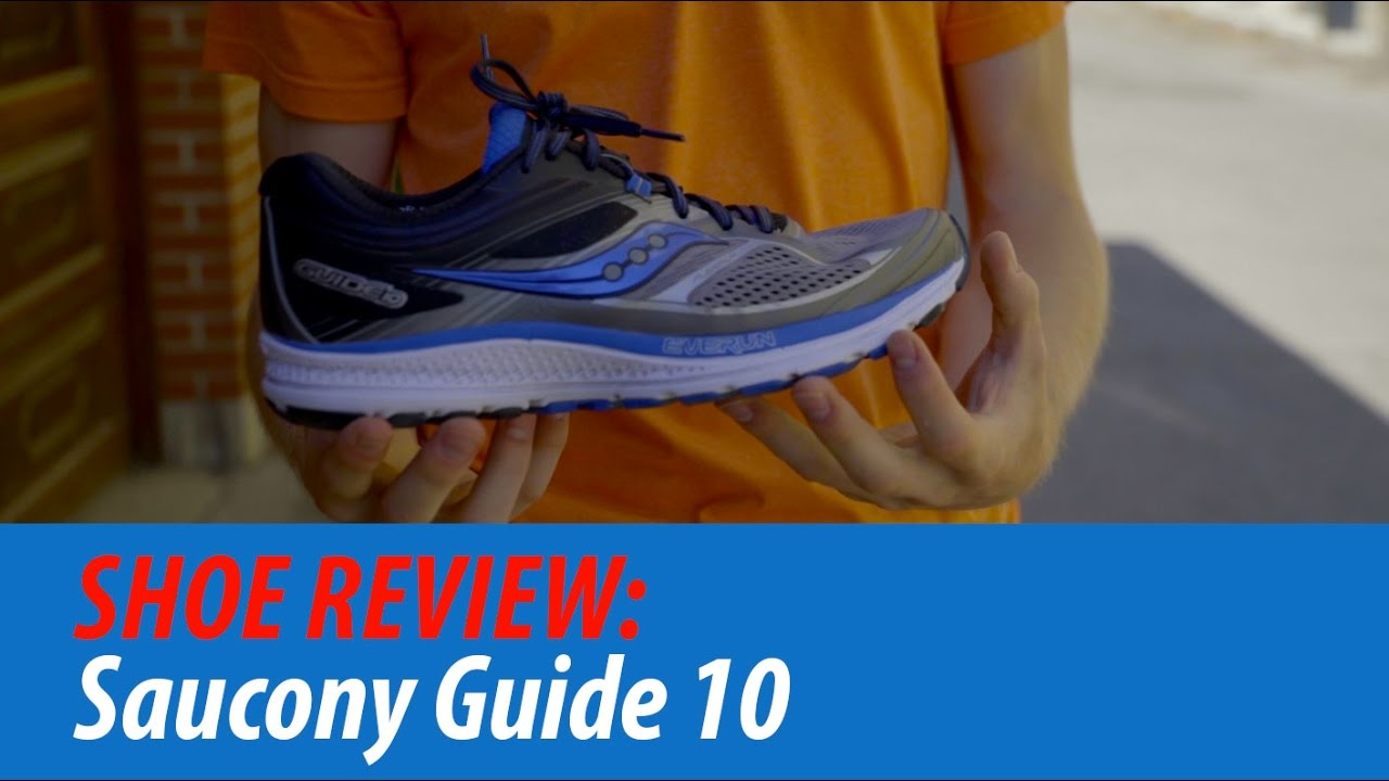 c028ec3d3bf SHOE REVIEW  Saucony Guide 10 - YouTube