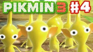 Pikmin 3 - Day 4 - Yellow Pikmin (Nintendo Wii U Gameplay Walkthrough)