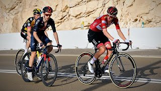 Tadej Pogačar and Adam Yates Epic Duel on Jebel Hafeet | UAE Tour Stage 3 Highlights 2021
