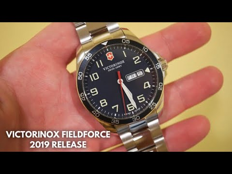 VICTORINOX Field Force Mens Watch Review New For 2019