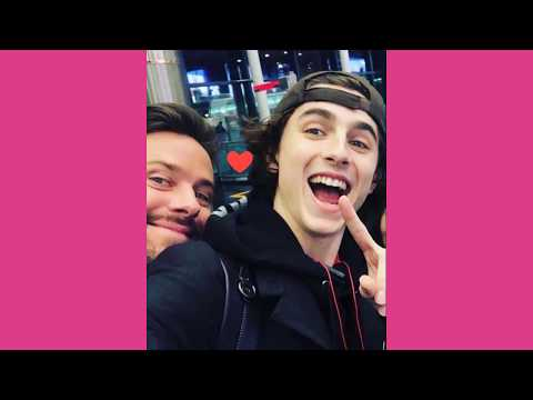 Timothee Chalamet / Call Me By Your Name Actor | Adorable Pictures To Make You Happy