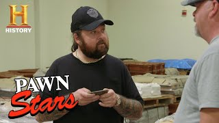Pawn Stars: Bank Note Plates Give Chumlee an Idea (Season 16) | History
