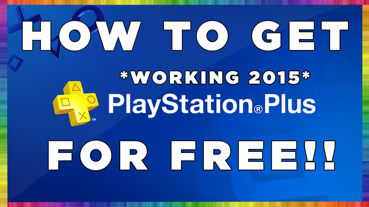 HOW TO GET FREE PSN PLUS PS4/PS3 14 DAY TRIAL FOREVER!!*WORKING ...