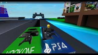 i created xbox and ps4 game on roblox