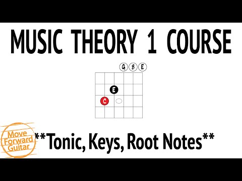 Music Theory 1 Guitar Course – Tonic, Keys, Root Notes – Lesson 10