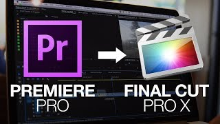 How to Import a Premiere Pro Sequence Into Final Cut Pro X