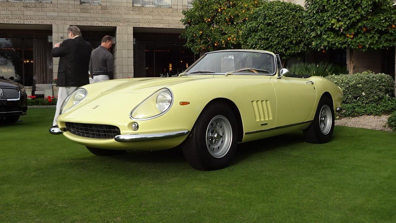 1967 Ferrari 275 Gtb 4 Nart N A R T Spyder V12 Engine Sound On My Car Story With Lou Costabile
