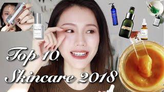 TOP 10💎2018年度爱用护肤品丨Skincare Favorites