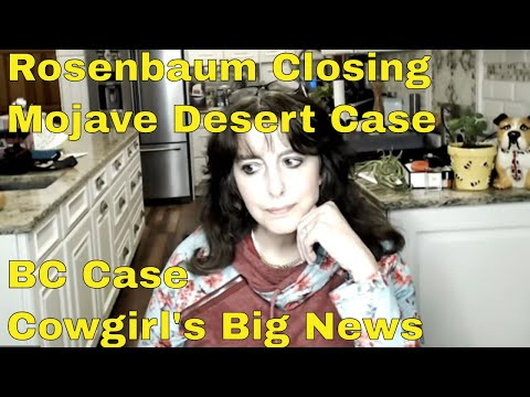 Rosenbaum, BC And Weld County Case Updates Plus Live Chat With Mommy Ramblings