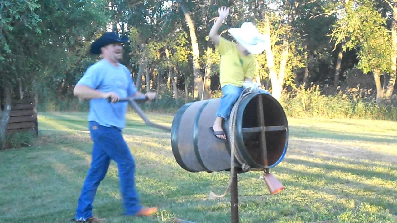 Bucking Barrel Best 4yr Old Rider Youtube