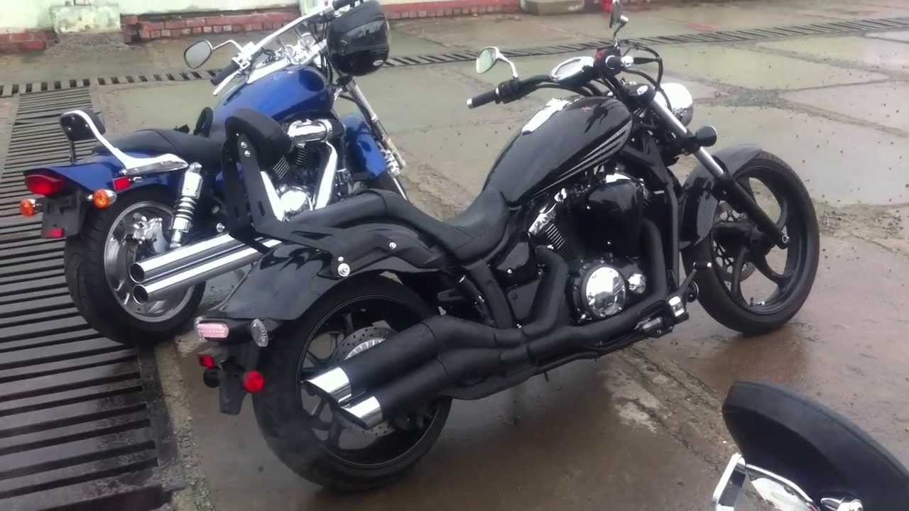 MОТО из США Moto Inter Ru 2011 Yamaha Stryker 1300 Youtube