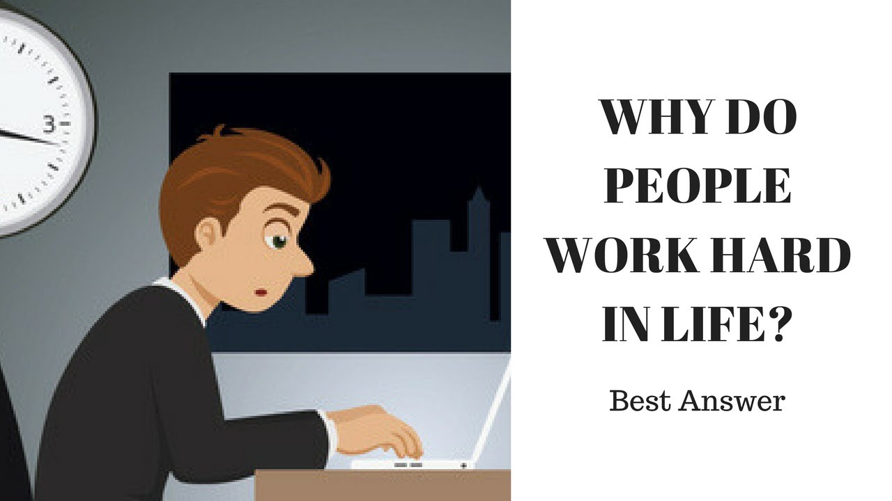 why people work Why people work livelihood-people work to provide themselves and their families with the basic essentials or life--food, clothing and shelteronce these basic essentials are met, other needs and wants become important.