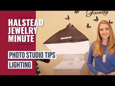 Halstead Jewelry Minute - Ep. 10 - Photo Studio Tips Pt. 2 - LIGHTING