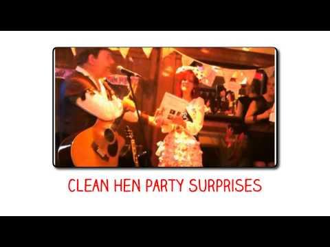 Clean Hen Party Surprises