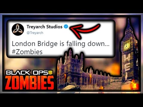 *New* Black Ops 4 Zombies London DLC Map Teaser by Treyarch (Call of Duty Black Ops 4 Zombies DLC 1)