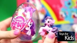 Милая Пони. Старлайт Глиммер. Украшаем  Май Литл Пони Игрушки для Девчонок ToysforKids