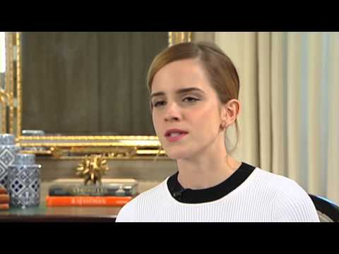 Interview: Emma Watson | StudioCanal's The Bling Ring (The Fan Carpet)