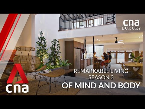 A terrace house in Singapore with upcycled Javanese windows and kampung vibes | Remarkable Living