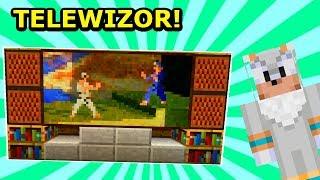 Jeż Na Ferajnie 4- JAK ZROBIŁEM TELEWIZOR?! *Urządzanie Domu* Minecraft Tritsus!