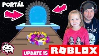 PORTAL IS FUNCTIONAL!!! -Pet Simulator! | Roblox | Daddy and Barunka CZ/SK