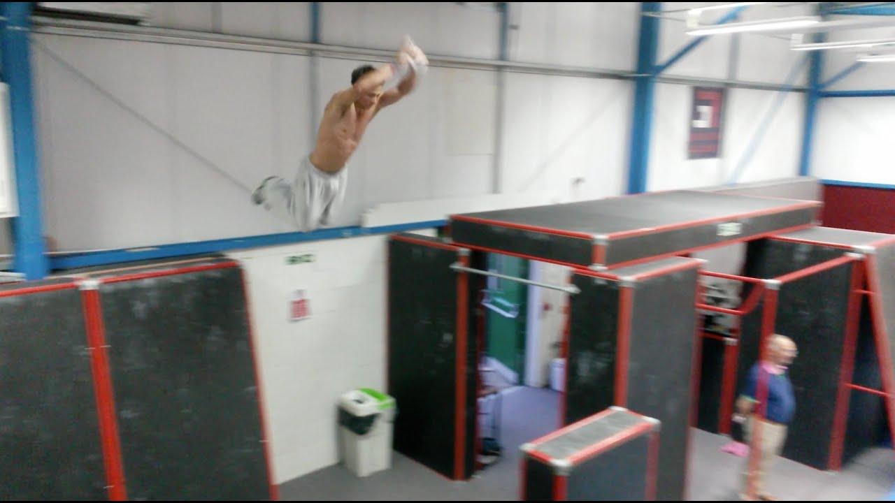 Parkour Training Gym 3run Academy Youtube