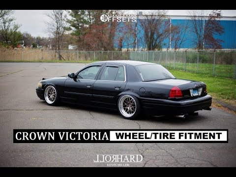 crown victoria wheel tire fitment 17s 18s 19s and 20s youtube crown victoria wheel tire fitment 17s 18s 19s and 20s