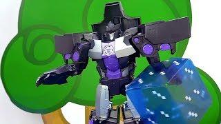 Игры с Трансформерами - Мегатрон и куб Энергона! - Видео для мальчиков.