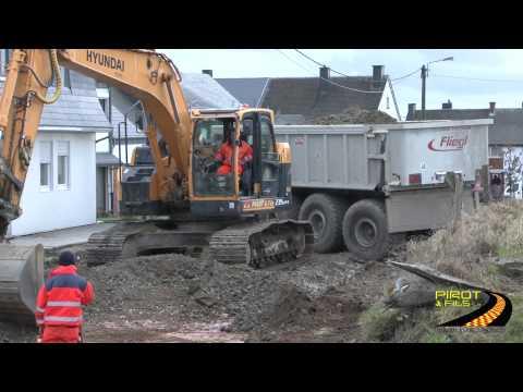 Rénovation de voiries à Libramont par la Société Pirot et Fils SA de VIllance