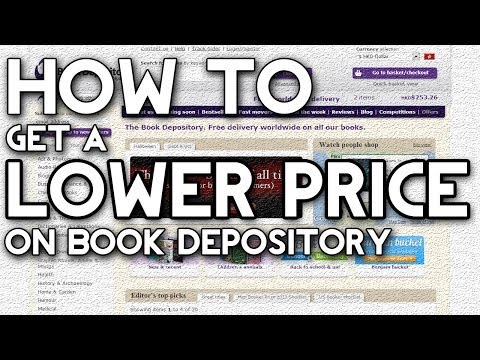 How to Get a Lower Price on Book Depository