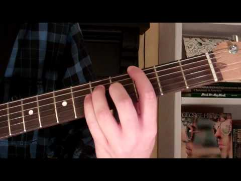 How To Play the Gm6 Chord On Guitar (G minor sixth) 6th