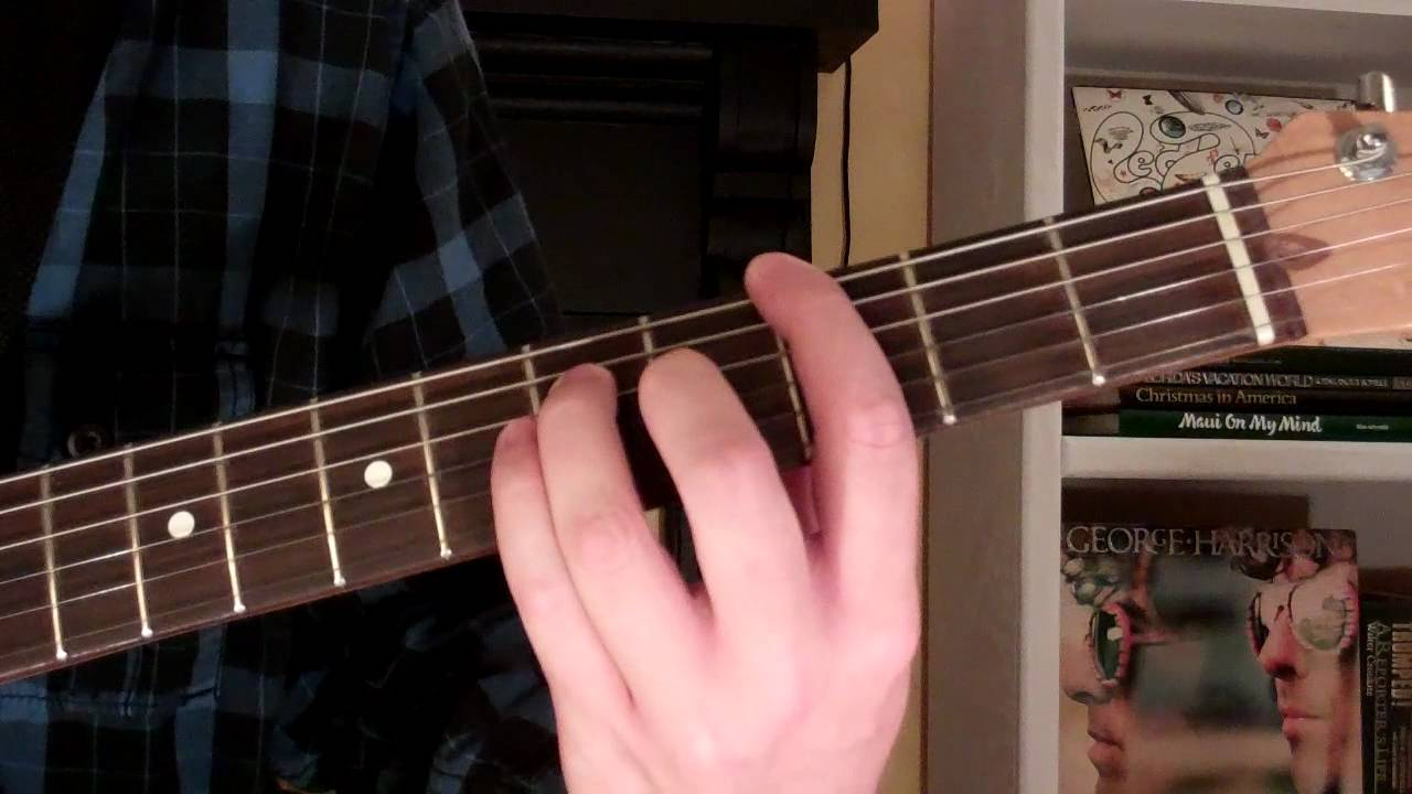 How To Play The Gm6 Chord On Guitar G Minor Sixth 6th Youtube